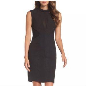 Bardot black dress